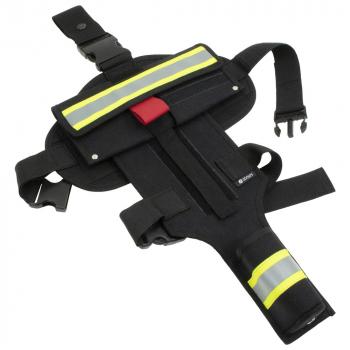 Dönges Feuerwehr-Beiltasche, verstellbar mit Beinfixierung