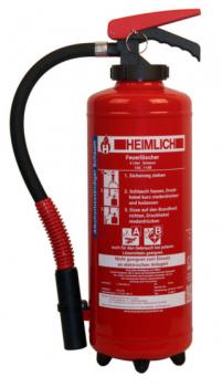 HEIMLICH S6AB-4, 6 Ltr. Schaum-Aufladelöscher für Lihium-Ionen-Akkus