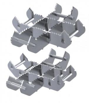 Holmatro Cross Ram Support Set für Rettungszylinder XRS01